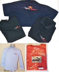 Toro Rosso F1 Team > Uniform Set  of 5 - Team Only !