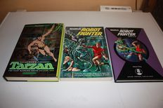 Russ Manning - The complete Tarzan vol.1 + The complete 'Magnus Robot fighter' vol.1 and 3 - 2x hc + 1x sc - (2006 / 2012)