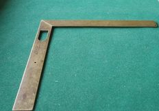 Beautiful measurement  / angle device- marked-brass-18th century-Maker = Canivet a Paris 18th century France.   Shipping