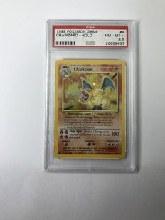 Pokemon charizard HOLO  1999   PSA 8.5