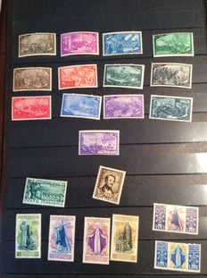 Italian Republic, 1948 – Small selection of series – Ordinary postage, airmail, express.