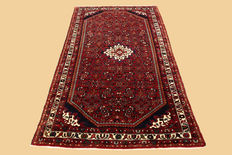 Handwoven Persian carpet hamadan approx. 217 x 127 cm