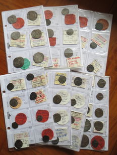 Savoy, Duchy and Earls Period, Lot of 57 coins from Edoardo (1323-1329) to Vittorio Amadeo II