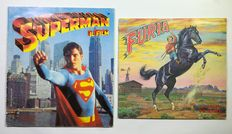 2x sticker album Superman il Film & Furia