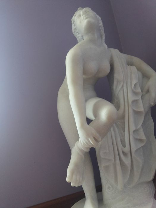 Eurydice after Sir Joseph Edgar Boehm. Marble handmade Original.