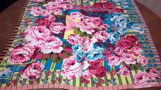 Kenzo - Silk scarf with floral pattern