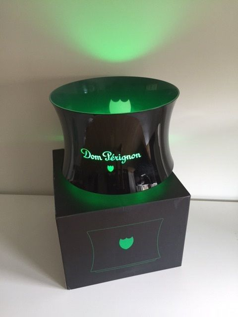 Dom Perignon champagne led cooler, large model.