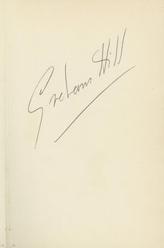 Graham Hill Life at the limit book Autographed by Graham Hill. 1970.