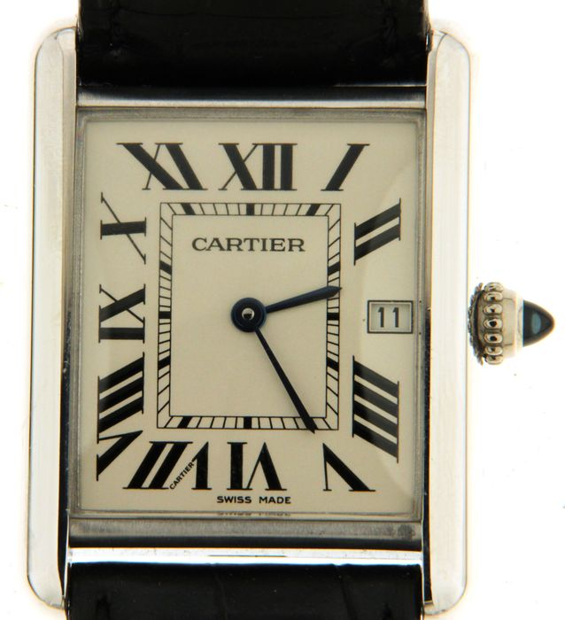 Cartier - Tank Louise De Cartier n°2678 - Men's Wrisrwatch - 2007