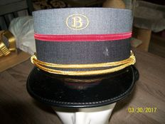 The kepi of the Belgian railways