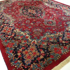 "Mashhed – 356 x 251 cm – ""XL Persian eye-catcher in beautiful condition."""
