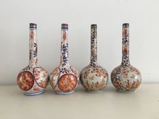 Imari stem vases - Macau, China - second half 20th century
