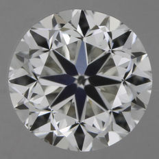0.50 ct brilliant cut I/VS1
