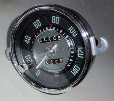 Unique odometer (KM) with DAY METER VW Beetle from 1957