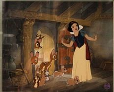 "Disney, Walt - Sericel - Snow White and the seven dwarfs - ""Housewarming"" (2008)"