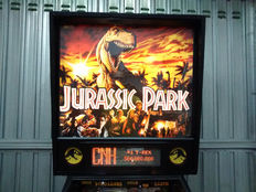 Jurassic Park Data East pinball machine