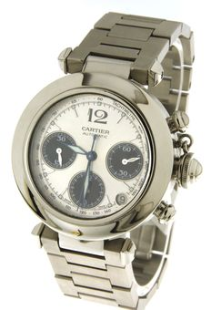 Cartier Pasha Chronograph Ref. 2412 - Wristwatch