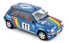 Norev - scale 1/18 - Renault 5 GT turbo # 11, Rally Monte Carlo 1990