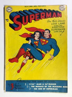 Superman no. 57 - Golden Age - 1x sc - (1949)
