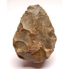 Middle Palaeolithic biface from France - 105 mm