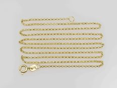 Chain in 18 kt gold. Length: 50 cm.