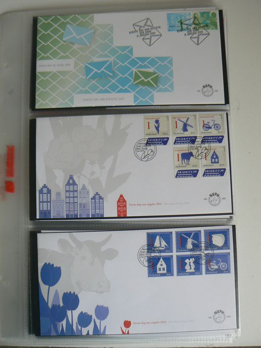 The Netherlands 2014 – FDCs complete year