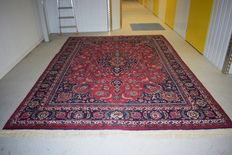 Vintage Persian Mashhad rug – 20th century 360x250cm - no reserve price - starts at €1