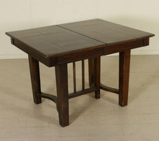 Art Nouveau draw leaf table - Italy - early 20th century