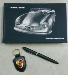 Porsche Museum book - 2013, new - with original pen and keyring
