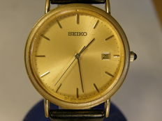 "Seiko men's ""rare"" vintage dress wrist watch with date model: 7N32-0C10 - I will gues the produktion year to 1978"