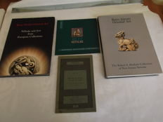 Lot with 4 books on netsuke - 1966/2002
