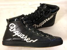 Dsquared - High top leather trainers