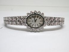 Ebel – Diamond tennis bracelet and watch combo with 12,04ct. of diamonds