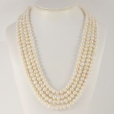 248 cm  Fresh Water Pearls Necklace