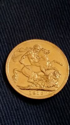 Great Britain - Sovereign 1912 - George V - Gold