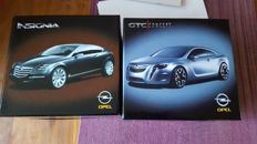 UT Models / Norev / Schuco - Scale 1/43-1/18 - Lot with 3 models: 2 x Concept cars of Opel and 1 x Porsche Boxster Cabriolet