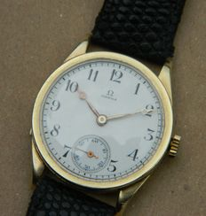 Ladies' 14K Gold Omega Wristwatch Circa 1950
