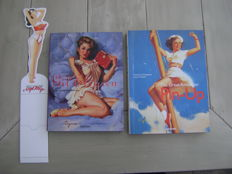 Reference; Lot with 2 pin-up monographs by Charles G. Martignette & Louis K. Meisel-2008/2011
