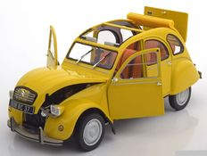 Norev - Scale 1/18 -Citroen 2 CV 6 Club 1979 - Colour: Yellow