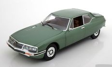 Norev - Scale 1/18 - Citroën SM 1971 - Colour Green Metallic