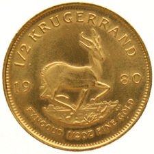 South Africa - ½ Krugerrand 1980 - ½ oz gold