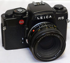 Unique Leica collector's object; dummy of a Leica R5 with Summicron