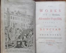 Alexander Pope - The Works of Alexander Pope - 9 volumes - 1751