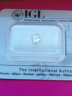 Diamante Princess  0.49 ct. VVS2  VG VG none
