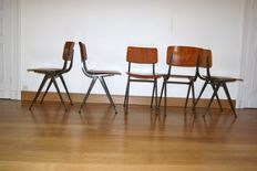 OBO - 5 industrial chairs