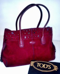 TOD'S - D-Bag Large Studded Tote