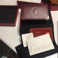 Cartier, document holder, like new, with tag