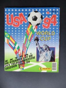 Panini - USA 94 World Cup - Complete album - Including original order form.