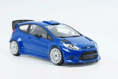 Minichamps - Scale 1/18 - Ford Fiesta RS WRC 2011 Street version 1.6-litre EcoBoost - Blue