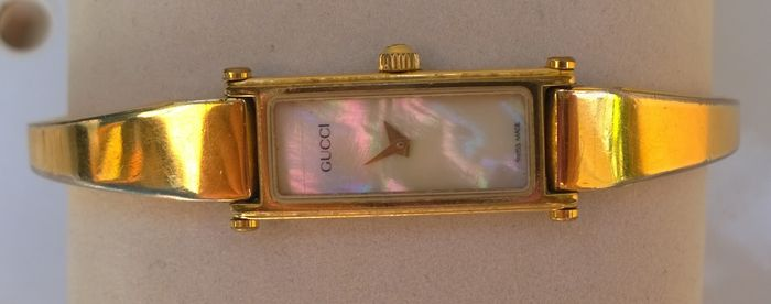 410aa9feb73abb Fine and elegant Gucci 1500 L - mother-of-pearl dial - women s watch ...